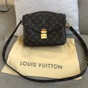 Authentic Louis Vuitton Metis Mono